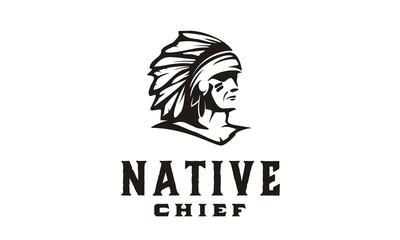 America Native / Indian Chief illustration