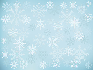 Snowflake design illustration icon