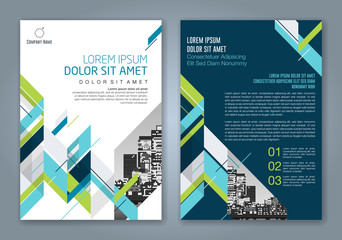 Abstract minimal geometric shapes polygon design background for business annual report book cover brochure flyer poster