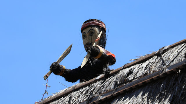 Traditionelles Dorf der Ngada
