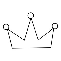 crown royal jewelry icon image vector illustration outline