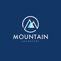 Mountain logo concept design - Vector EPS10.