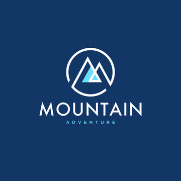 Mountain logo concept design - Vector EPS10.