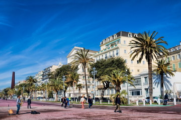 Nizza, Promenade des Anglais Wall mural