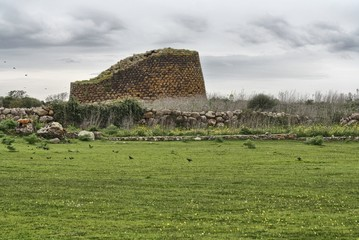 Sardegna. Nuraghe Losa
