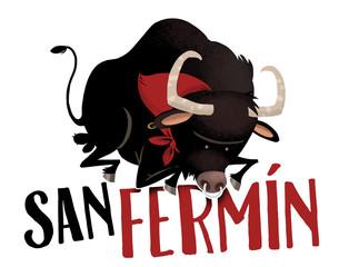 toro de San Fermin