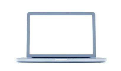 Digital artwork illustration of a Modern laptop