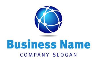 Global Network Communications Business Logo