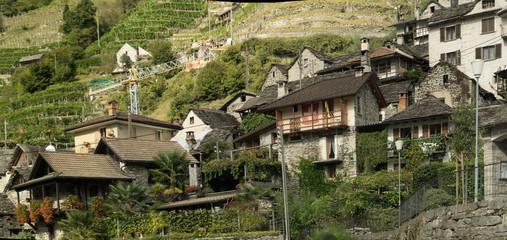 Vogorno in the Valle Versasca