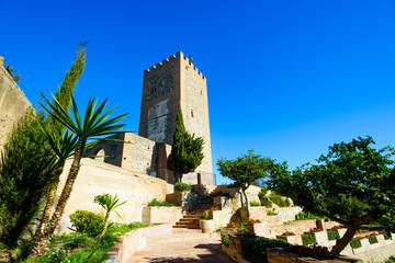 Alcazaba de Velez-Malaga, Andalusia, Spain