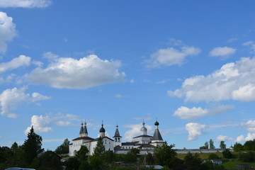 The monastery of Ferapontovo Russia