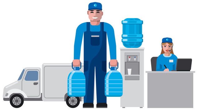 clean water delivery service