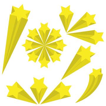 Stars vector design illustration