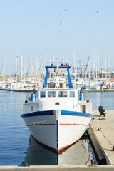 canal, mediterranean, sete, france, south of france, water
