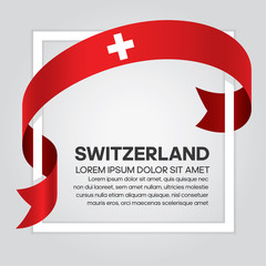 Switzerland flag background