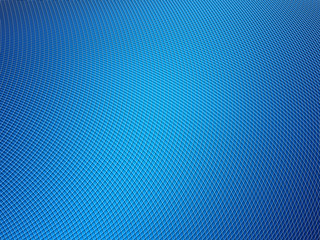 Abstract blue background. Grid, lines and gradients