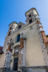 L'Abbaye de Tyniec près de Cracovie