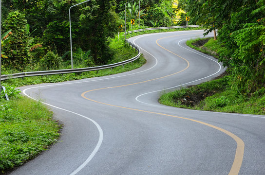 curve of the road