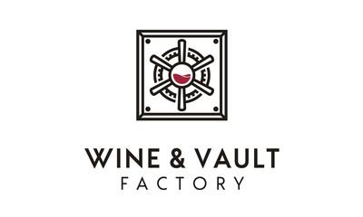 Wine Vault / Factory logo design inspiration