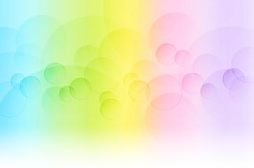丸いボケとグラデーションの背景(抽象的)