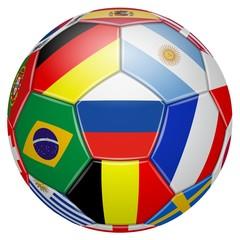 Football. 2018 Participating teams