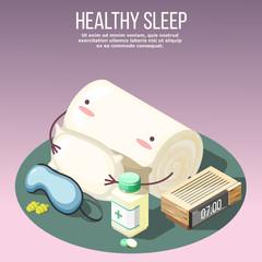 Healthy Sleep Isometric Composition