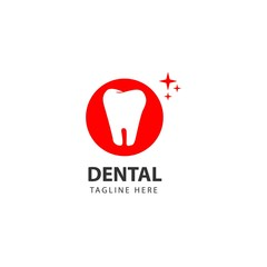Dental Logo Vector Template Design Illustration