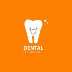 Dental Logo Vector Template Design Illustration