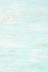 Light blue painted wooden background