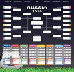 Spielplan '18 - Fußball