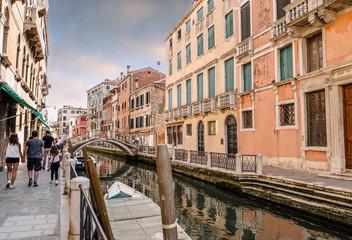 Venise en début de soirée