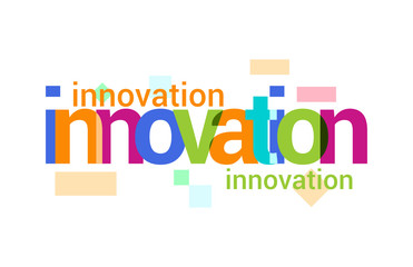 Innovation Overlapping vector Letter Design