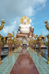 Chinesischer Lachender Buddha (Samui, Thailand)