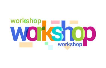 Workshop Overlapping vector Letter Design
