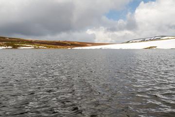 Laguna de los Peces. Parque Natural Lago de Sanabria y alrededores, Zamora, España.