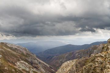 Sierra de la Cabrera Baja, León, España.