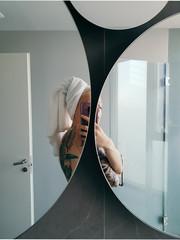 Ich im Spiegel
