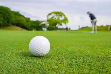 ゴルフボール パッティンググリーン