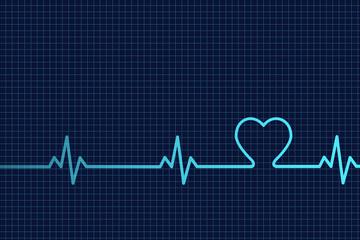 Herzschlag Kardiogramm