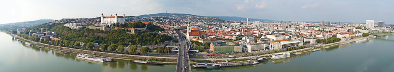 Bratislava Slovakia panorama