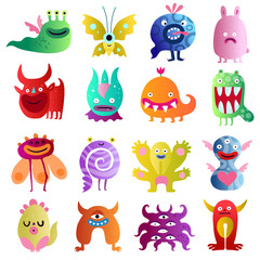 Funny Monsters Big Set