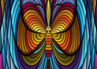 dekoracyjny motyl