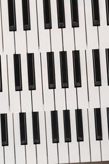 Parts of an organ kayboard