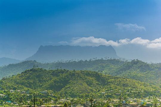 El Yunque Table Mountain near Baracoa, Cuba