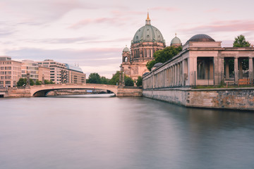 Poster Berlin Berlin Cathedral at sunset