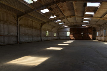 Empty warehouse, U.K.