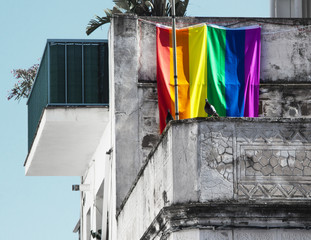 Rainbow flag of minorities