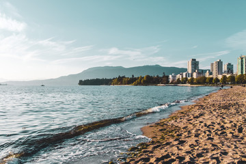 English Bay Beach in Vancouver, BC, Canada Fotomurales