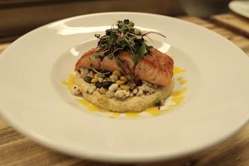 fish seafood salmon