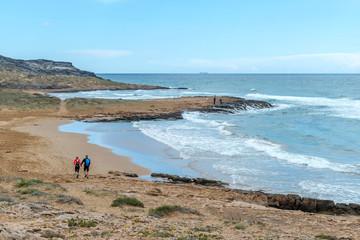 Parque Natural de Calblanque. Murcia. Spain. 8 April 2018